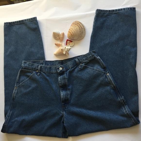 560e12f3 Wrangler Jeans | Carpenter Men Tag Size 38 X 34 | Poshmark